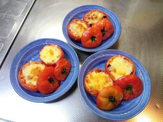 ありがとう39クッキング【丸ごとトマトをオーブンで焼いて39!】