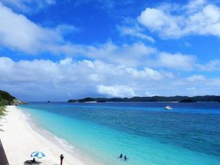 39ツアー【慶良間諸島②:阿嘉島の海は青かった】